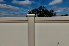 Precast Concrete Fence Panel and Post