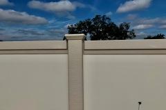 Precast Concrete Fence Panel and Post
